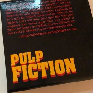 "Urban Decay ""pulp fiction"" shadow palette."